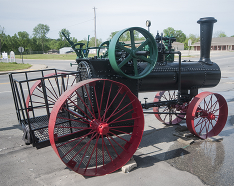 restored case steam tractor