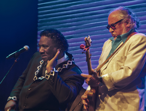 Bob Margolin and Mud Morganfield