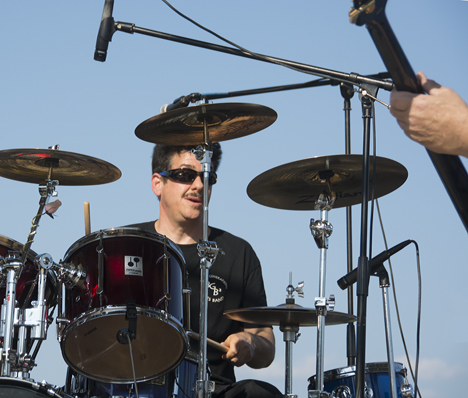 Drummer in Jack Rowell, Jr. Band