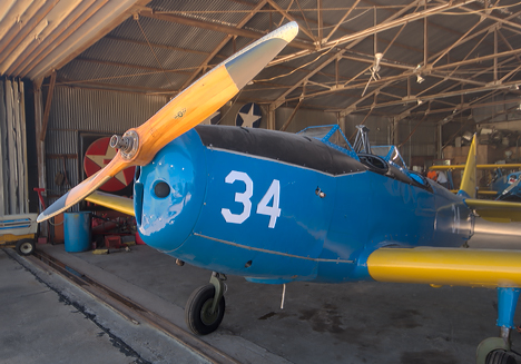 Restored Ryan PT-19 Trainer