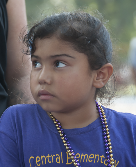 little girl at Ding Dong Days
