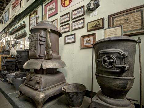 Depot stove