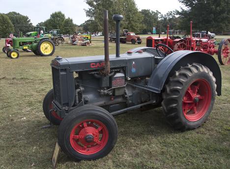 restored 1938 C Model Case Tractor