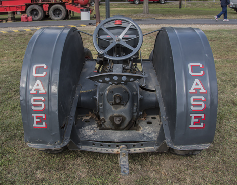 back side of case 1938 c model tractor