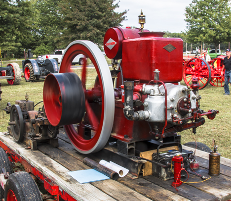 Restored and operating Star gasoline power unit