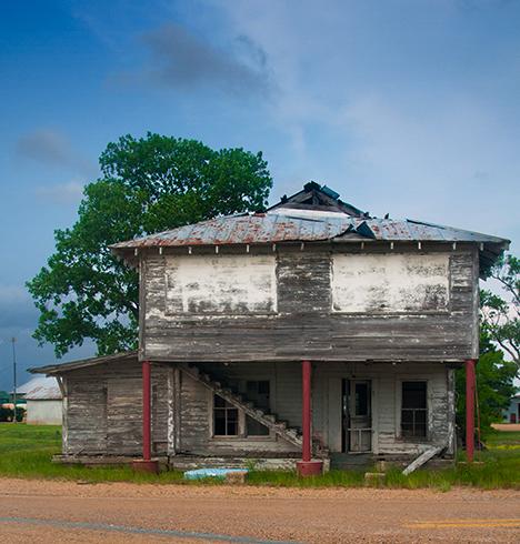 Old building at Fresno Arkansas