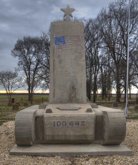 442 regimental combat team memorial at rohwer relocation center