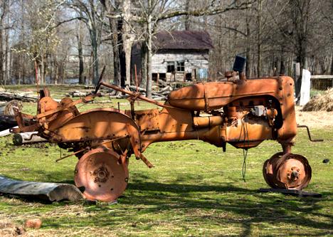 junk tractor