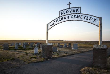 Lutheran Cemetery near Slovak AR
