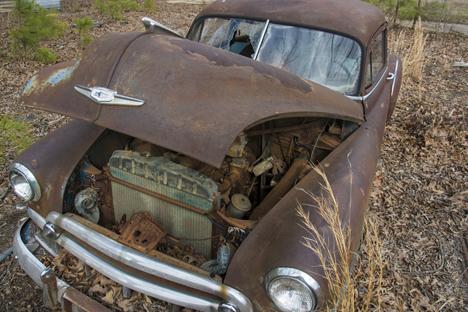 1950  Chevy junker