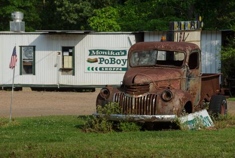 1946 Chevy at Monikas Po Boys