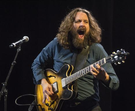 Guitarist for Brandon Santini