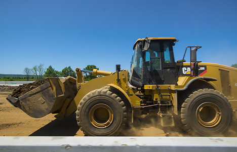 large front end loader