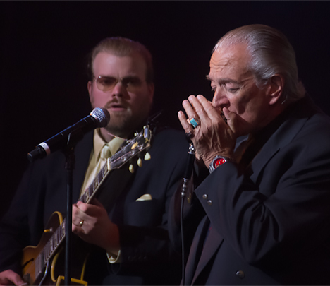 Charlie Musselwhite and Kid Anderson