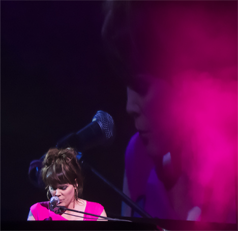 Beth Hart at keyboard