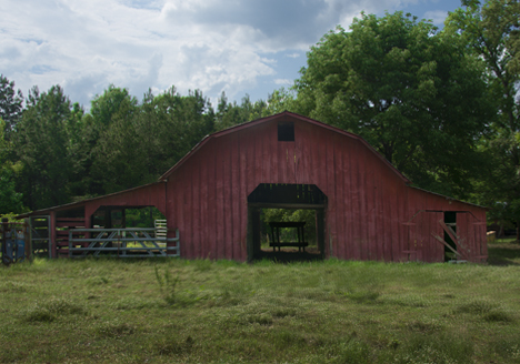 Red Barn South of Hermitage, Arkansas