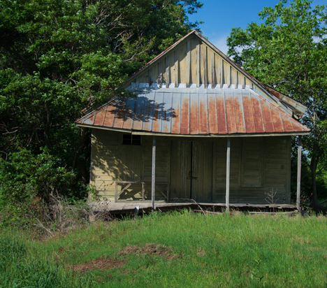 Old building on North McKinney Road