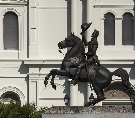 Andrew Jackson Statue in Jackson Square