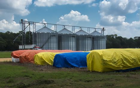 colorful cotton storage