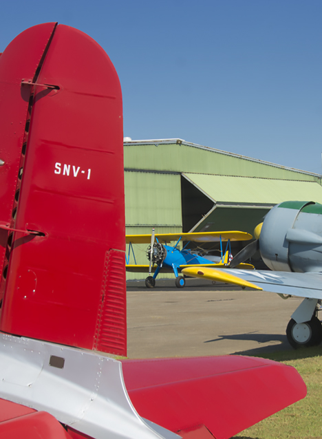 BT 13, Stearman and AT-6
