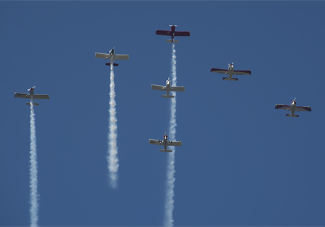 Precision formation flying