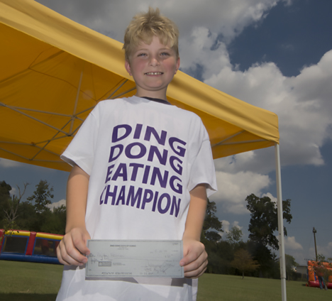 Ding Dong Days Jr. Eating Champion