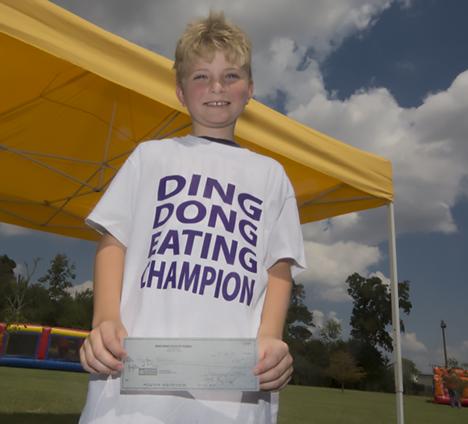 Ding Dong Days Jr. Eating Champion