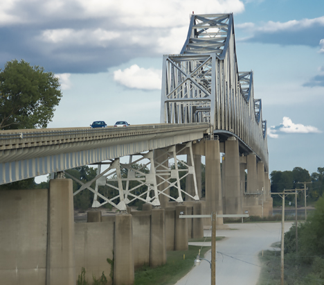 Mississippi River Bridge at Helena, Arkansas