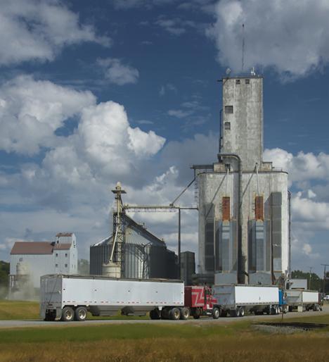 Producers Rice Mill elevator DeWitt Arkansas
