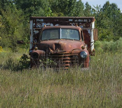 1954 Chevy Truck in DeWitt Arkansas