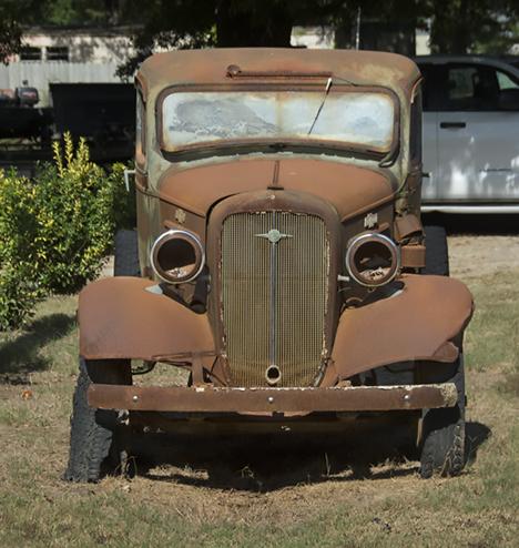 1935 Chevy truck in St. Charles Arkansas