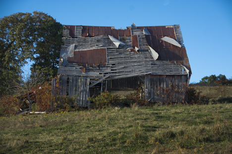 Old barn on Souder Road