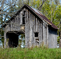Old barn in southern Missouri