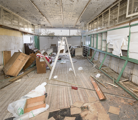Inside of old drug store