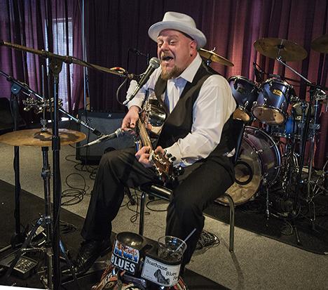 Blues musician Eric Hughes
