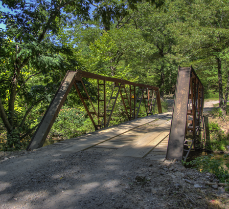 Small bridge south of Big Fork Arkansas