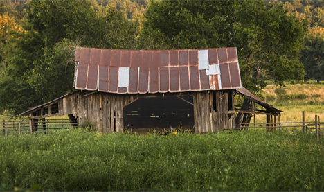 Barn on Liberty Road