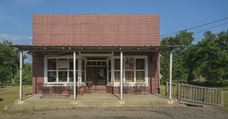 Old restoted store in Caddo Gap Arkansas