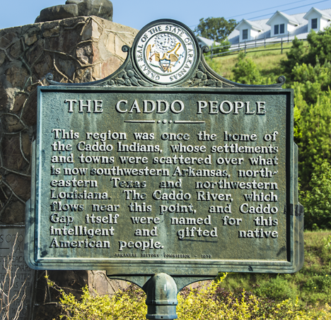 Caddo people historical marker