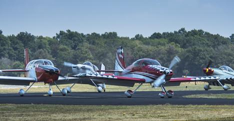RV aircraft landing