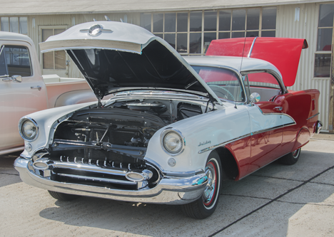1955 Oldsmobile Holiday Coupe