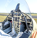 Cockpit of Lockwood Air Cam II