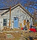 LIttered house in Muskogee OK