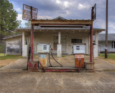 Old country store on the southern section of Arkansas HIghway 7