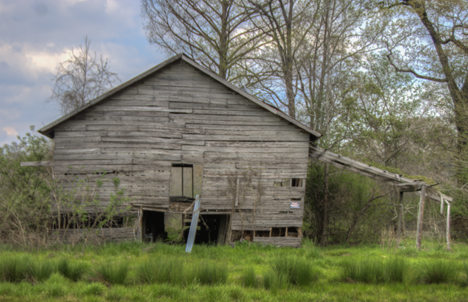 large old barn