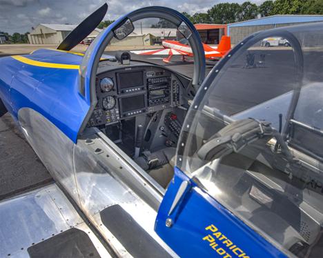 RV aircraft cockpit